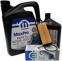 Olej MOPAR 5W20 oraz oryginalny filtr Jeep Cherokee KL 3,2 V6