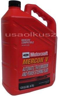 Olej automatycznej skrzyni biegów Motorcraft MERCON V 4,73l Lincoln Mercury