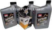 Filtr oleju oraz syntetyczny olej 10W30 Dodge Stratus 16V