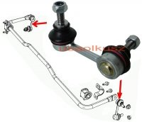 Łącznik stabilizatora tylnego Chrysler Sebring 2007-