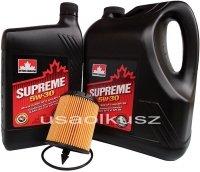 Filtr oraz mineralny olej 5W30 Chevrolet Equinox 2,4