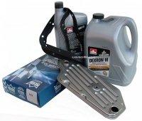 Filtr oraz olej Dextron-VI automatycznej skrzyni biegów A4LD Ford Explorer 4x4 -2005