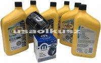 Olej Pennzoil 0W20 oraz oryginalny filtr Dodge Dart 2,4