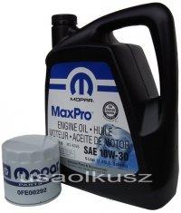 Filtr oleju + olej MOPAR 10W30 Chrysler Saratoga