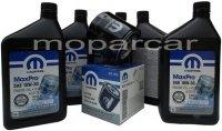 Filtr oraz olej MOPAR 10W30 Jeep Comanche 1991-