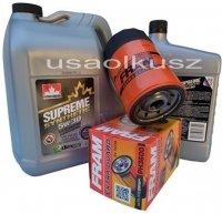 Filtr oleju oraz syntetyczny olej 5W30 Mitsubishi Raider 3,7 V6 -2008
