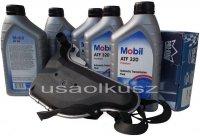 Filtr oraz olej skrzyni biegów Mobil ATF320 Pontiac Grand Am