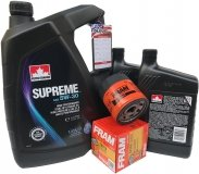 Olej 5W30 oraz filtr oleju silnika Chevrolet Tahoe 2007-