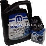 Olej MOPAR 5W20 oraz filtr oleju silnika Volkswagen Routan 4,0 V6