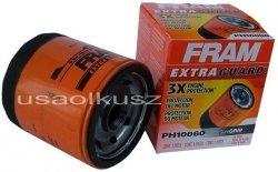 Filtr oleju silnika firmy FRAM Chevrolet Corvette 2007-