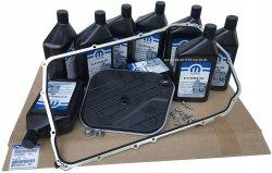 Filtr oraz olej MOPAR skrzyni 8HP90 Dodge Challenger Hellcat 6,2 V8 Supercharged