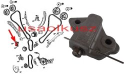 Napinacz prawego łańcucha rozrządu MOPAR Jeep Grand Cherokee 3,6 V6 5047886AA