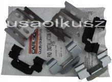 Zestaw montażowy tylnych klocków Chevrolet Blazer 1997-2005