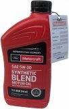 Olej silnikowy Motorcraft 5W30 SYNTHETIC BLEND MOTOR OIL 1l Lincoln Mercury
