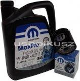 Olej MOPAR 5W20 oraz filtr oleju silnika 22mm Dodge Caravan 4,0 V6
