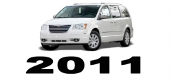 Specyfikacja Chrysler Voyager Town&Country 2011