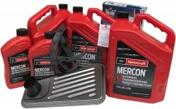 Filtr + olej Motorcraft Mercon V skrzyni biegów 4R100 Ford F-150 F150 AWD -2006