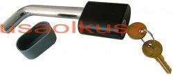 Zabezpieczenie mocowania kuli haka holowniczego 15,87 mm z KLUCZYKIEM