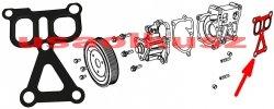 Uszczelka obudowy pompy wody Chrysler Sebring 2007-
