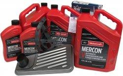 Filtr + olej Motorcraft Mercon V skrzyni biegów 4R100 Ford Excursion AWD