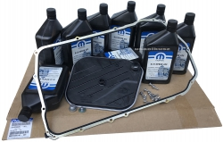 Filtr oraz olej MOPAR skrzyni 8HP90 Dodge Charger Hellcat 6,2 V8 Supercharged