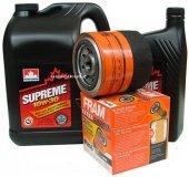 Filtr oleju FRAM PH16 oraz olej SUPREME 10W30 Dodge Daytona