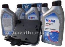 Filtr oraz olej Mobil ATF-320 skrzyni biegów Dodge Intrepid