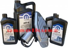 Olej MOPAR ATF+4 oraz filtry skrzyni biegów Chrysler Aspen AWD