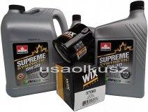 Filtr oraz syntetyczny olej 5W30 Chevrolet Equinox V6 2008-2010