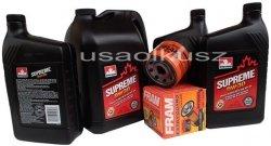 Olej 5W30 oraz filtr oleju silnika Cadillac Escalade 2007-