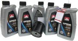 Filtr oleju oraz syntetyczny olej 10W30 Chrysler Cirrus 16V