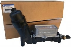 Obudowa filtra oleju z chłodnicą MOPAR Jeep Grand Cherokee 3,6 V6 2016- 68308741AB