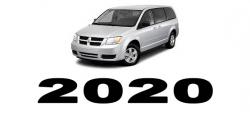 Specyfikacja Dodge Caravan 2020