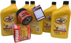 Filtr + olej PENNZOIL 5W30 GMC Safari