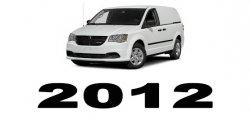 Specyfikacja RAM Cargo Van 2012