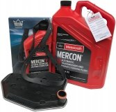Filtr + olej skrzyni biegów Motorcraft MERCON V  Lincoln Mark LT