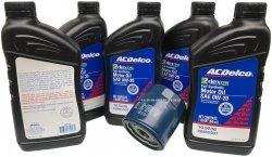 Filtr olej silnikowy 0W20 Dexos2 Full Synthetic ACDelco Chevrolet Equinox 1,5 Ecotec 2018-