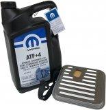 ORYGINALNY olej MOPAR  ATF+4 5l oraz filtr oleju automatycznej skrzyni biegów Chrysler Concorde
