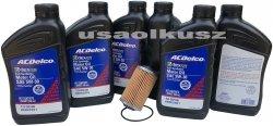 Filtr olej silnikowy 5W-30 Dexos2 Full Synthetic ACDelco Cadillac STS 3,6 V6