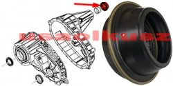 Uszczelniacz tylnego wału reduktora NP136C GMC Safari AWD 1999-