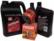 Olej 5W30 oraz filtr oleju silnika Chevrolet Traverse