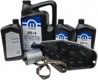 Olej MOPAR ATF+4 oraz filtry skrzyni biegów Jeep Wrangler 2003-2005