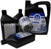 Oryginalny filtr oraz olej MOPAR 5W20 Dodge RAM 5,7 -2008