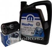 Orygimalny MOPAR filtr oraz olej 5W20 Dodge Nitro 3,7 V6 2009-