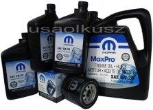 Oryginalny filtr oraz olej MOPAR 5W20 Dodge Magnum 5,7 V8 2008