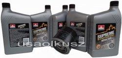 Filtr oraz syntetyczny olej 10W30 Dodge Shadow