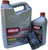 Filtr oraz syntetyczny olej AMALIE 5W30 Chevrolet Impala 2000-