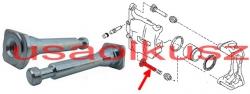 Dolna prowadnica przedniego zacisku Nissan X-Trail T31 2007-
