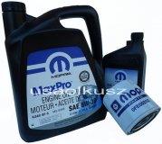 Oryginalny MOPAR filtr oraz mineralny olej 5W30 Dodge Durango 4,7 V8 -2008