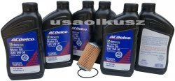 Filtr olej silnikowy 5W-30 Dexos2 Full Synthetic ACDelco Chevrolet Camaro 3,6 V6 -2015